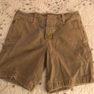 Boys Hollister khaki shorts